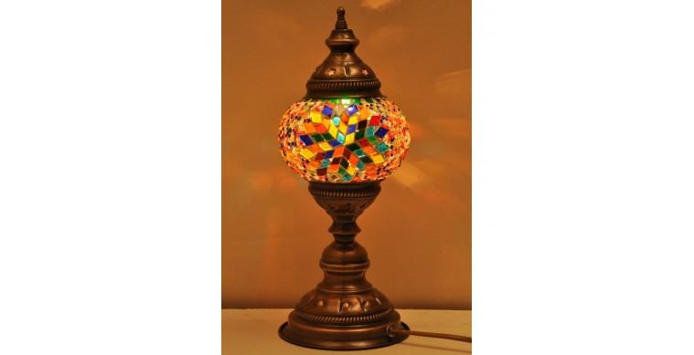 Masaüstü Mozaik Lamba 13 cm eni 35 cm boyu 450 gr ağırlık