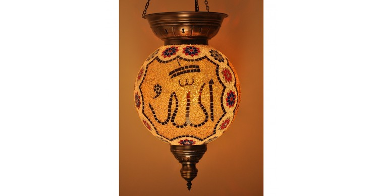 Askılı Mozaik Lamba 40 cm 5750 gr
