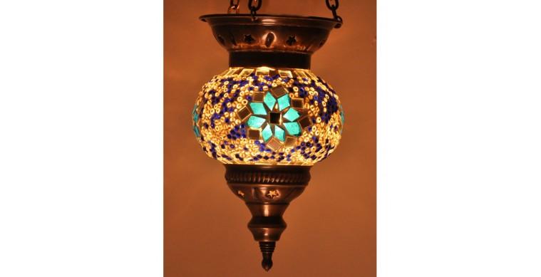 Askılı Mozaik Lamba
